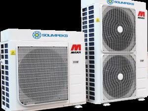 SOLİMPEKS MAXA MONOBLOK İNVERTER ISI POMPASI (6 – 16 kW)