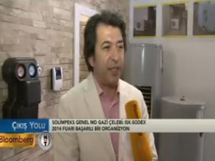 Gazi Çelebi:Türkiye'yi enerji alanında üs yapmak istiyoruz…BLOOMBERG HT