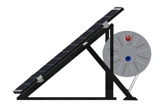 volter compact solar enerji sıcak su sistemi