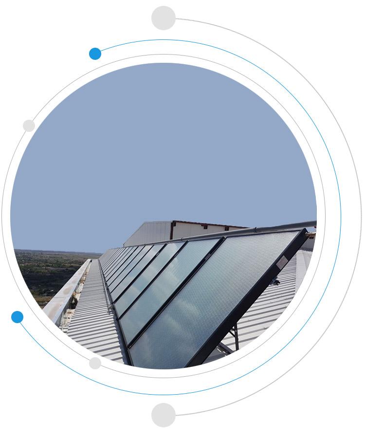 termal güneş kollektörü paneli