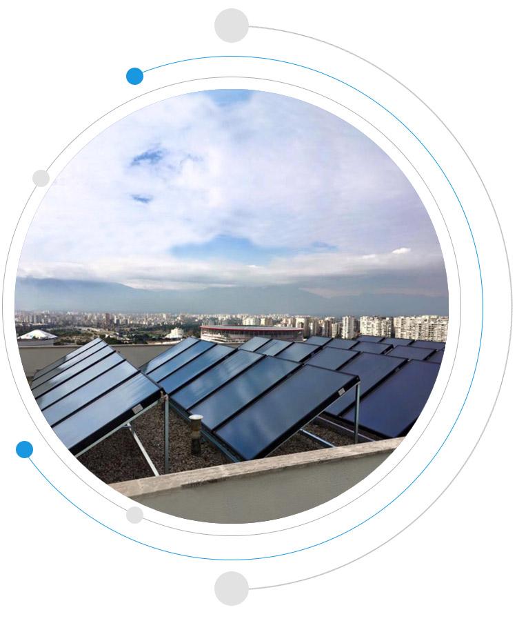 termal güneş kollektörü güneş paneli