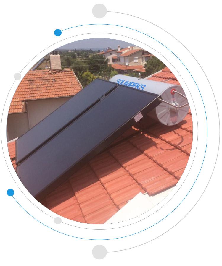 termosifonik sistem solar panel