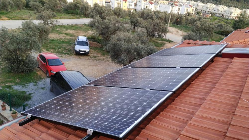 aydın on-grid sistem güneş enerjisi elektrik üretimi