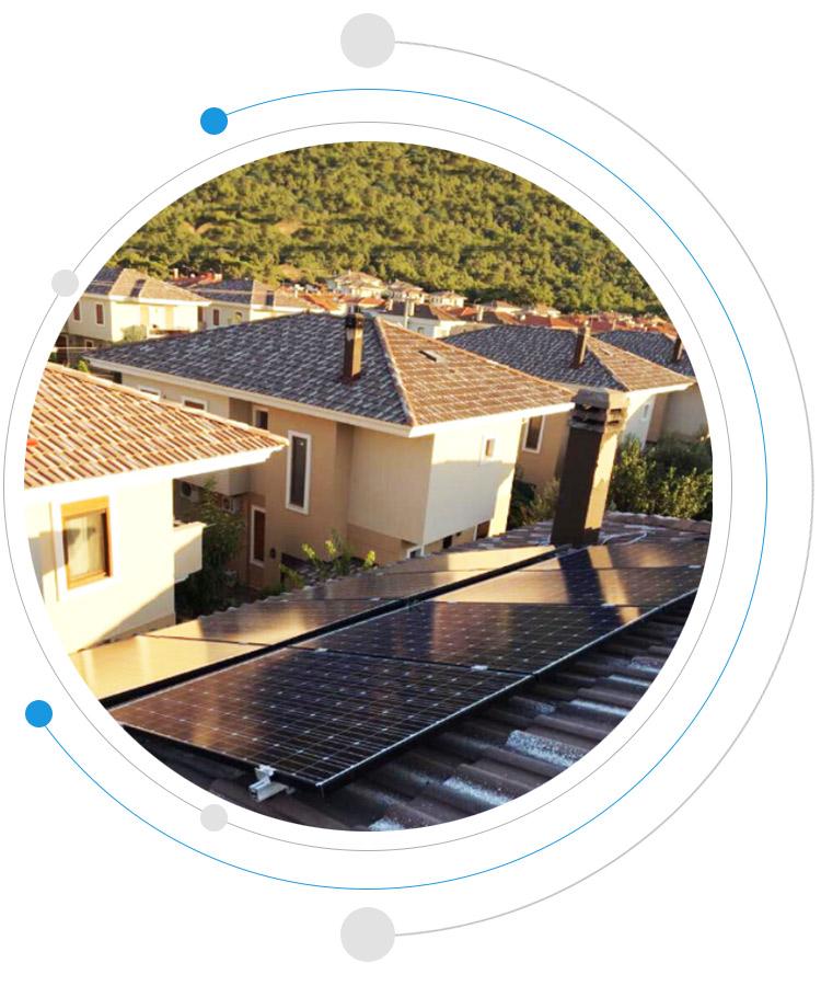 fotovoltaik panel pv sistem güneş pili güneşten elektrik üretimi