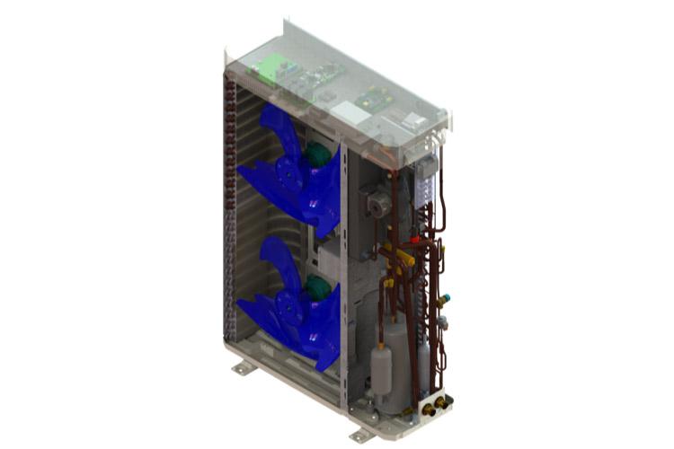 maxa ısı pompası büyük kapasite hava kaynaklı ısı pompası
