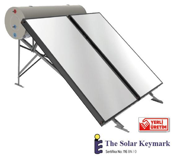 termosifonik sistem güneş kollektörü
