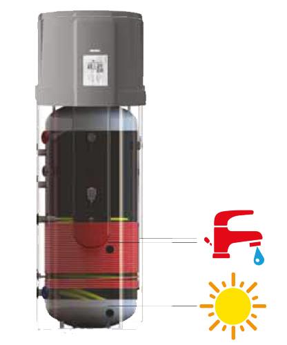 boyler ısı pompası sıcak su ısı pompası sessiz ısı pompası montajı all in one heat pump düşük sıcaklıklı ısı pompası