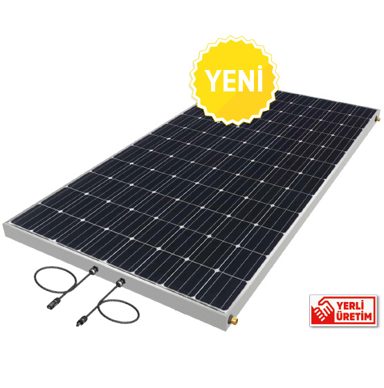 hibrit pv-t panel güneşten elektrik üretimi güneş pili photovoltaic panel pv system