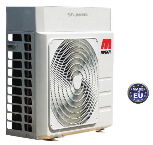 ısı pompası maxa hava kaynakli inverter monoblok ısı pompası