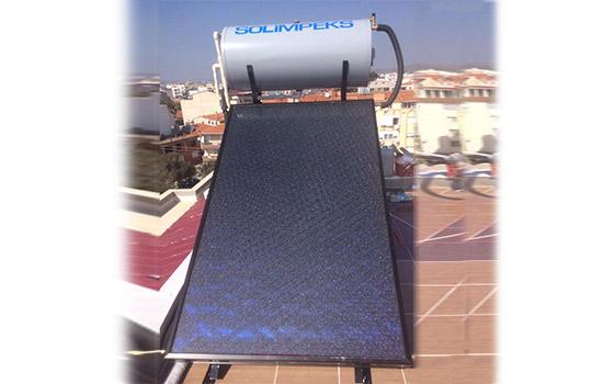 termal montaj seti düz çatı güneş enerjisi sistemleri geri deşarj termosifonik solar sistem panel