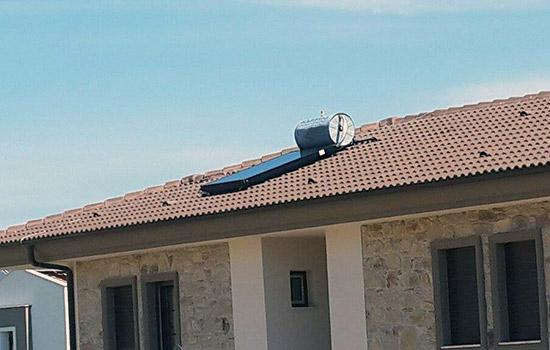 termal montaj seti kiremit çatı güneş enerjisi sistemleri geri deşarj termosifonik solar sistem panel