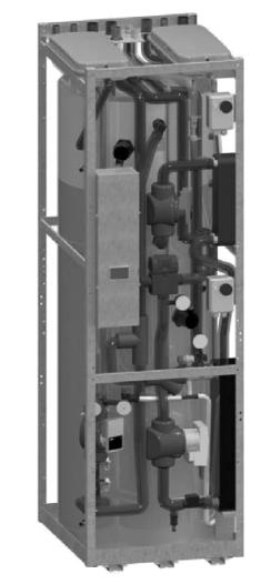 hava kaynaklı split ısı pompası marps 16 içi ünite