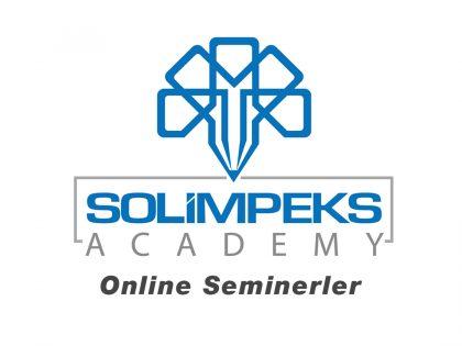 Solimpeks Akademi Online seminerler yoğun ilgi gördü.