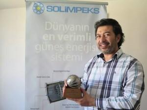 Solimpeks İhracat'ta başarı ödülü aldı…